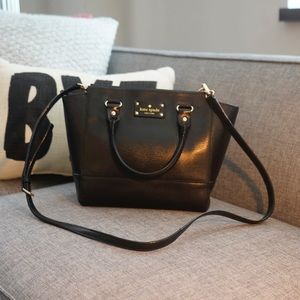 KATE SPADE ♠️ medium leather Shoulder Hand Bag